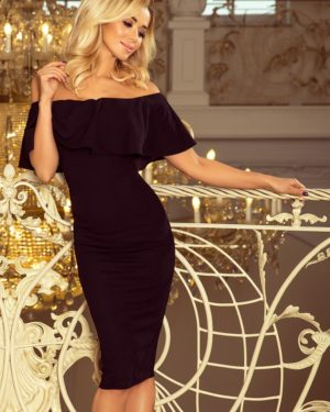Dámské šaty 138-7 NUMOCO černé