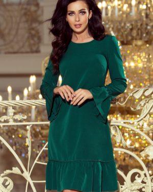Dámské šaty 226-1 NUMOCO zelené
