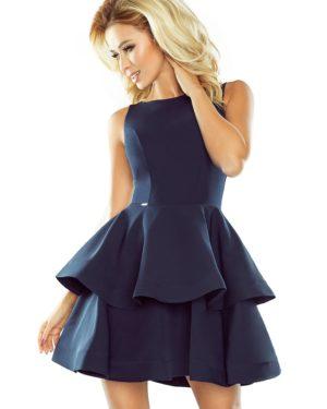 Dámské šaty 169-2 NUMOCO tmavě modré
