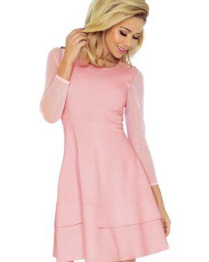 Dámské šaty NUMOCO 141-7 růžové
