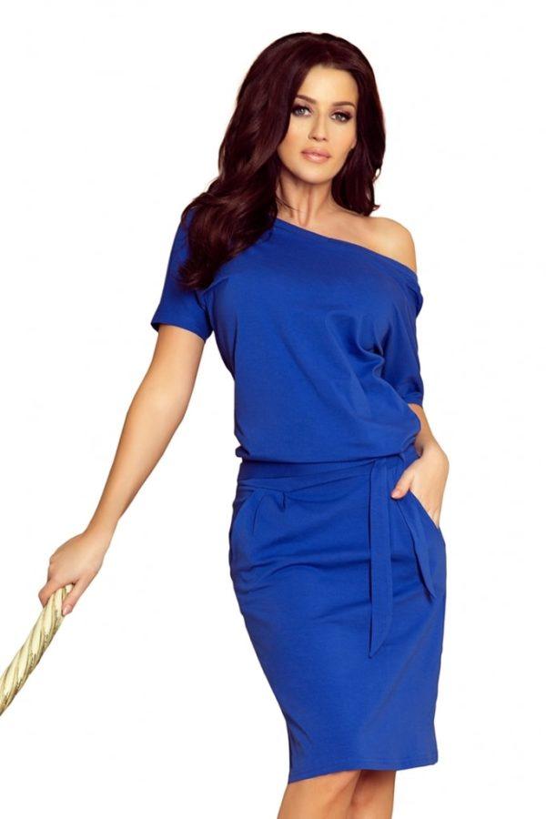 Dámské šaty 249-1 Numoco modré