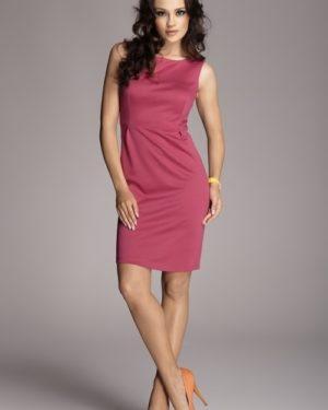 Dámské šaty FIGL M079 fuchsiově růžové