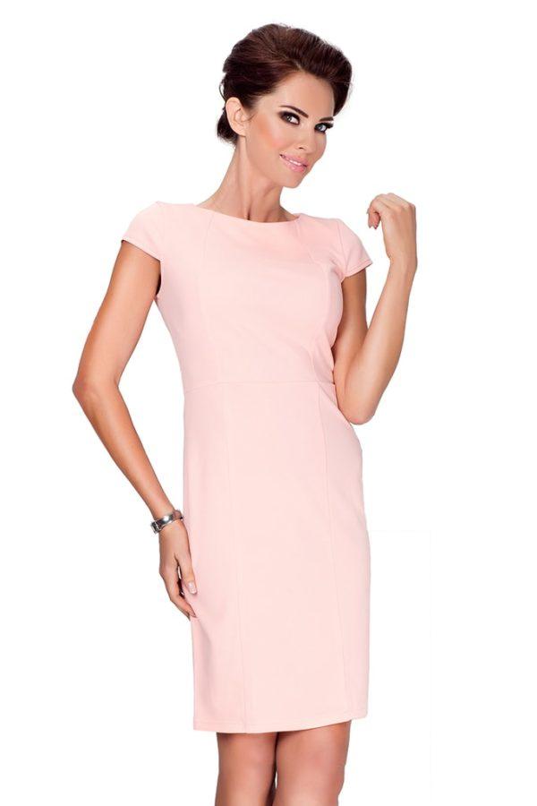 Dámské šaty 37-1 NUMOCO růžové