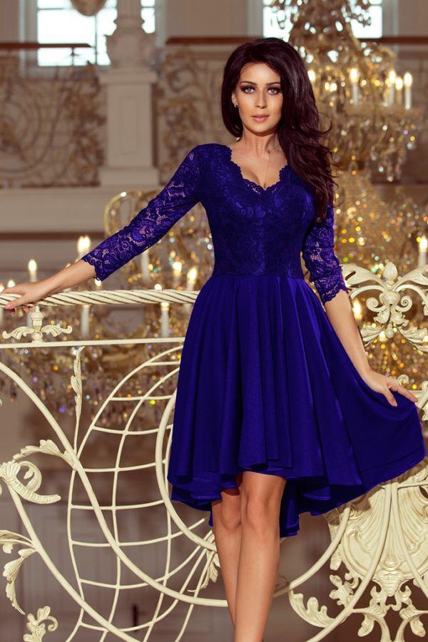 Dámské šaty 210-4 NUMOCO modré