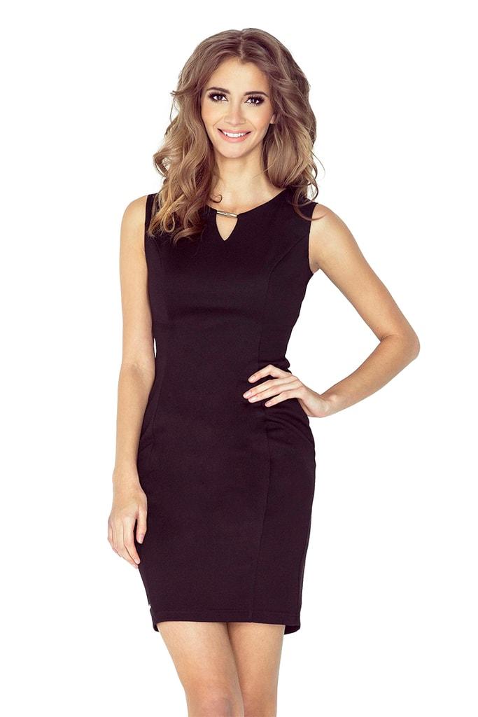 Dámské šaty 005-3 MORIMIA černé
