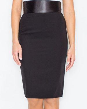 Dámská pouzdrová sukně FIGL M160 černá