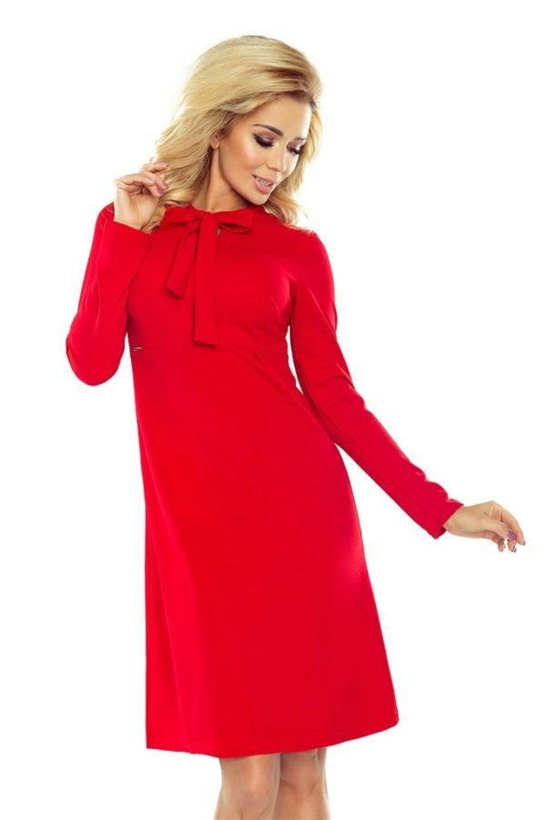 Dámské šaty NUMOCO 158-2 červené