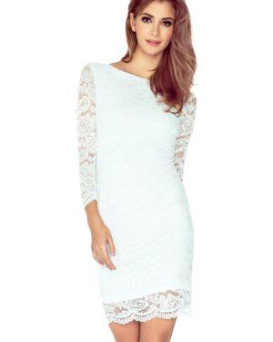 Dámské šaty 145-3 Numoco bílé