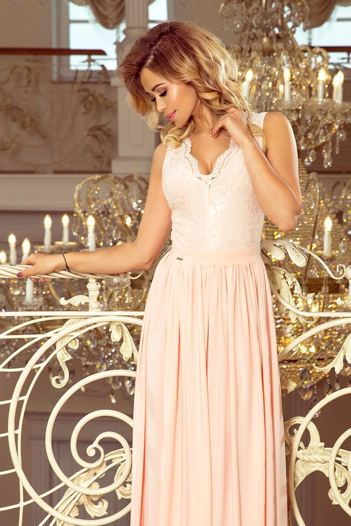 Dámské šaty 211-4 NUMOCO růžové L