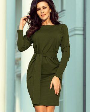 Dámské šaty 209-5 NUMOCO zelené