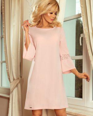 Dámské šaty 190-1 NUMOCO růžové