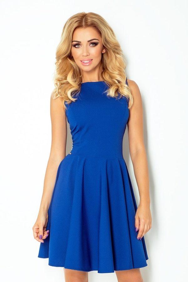 Dámské šaty 125-4 NUMOCO modré