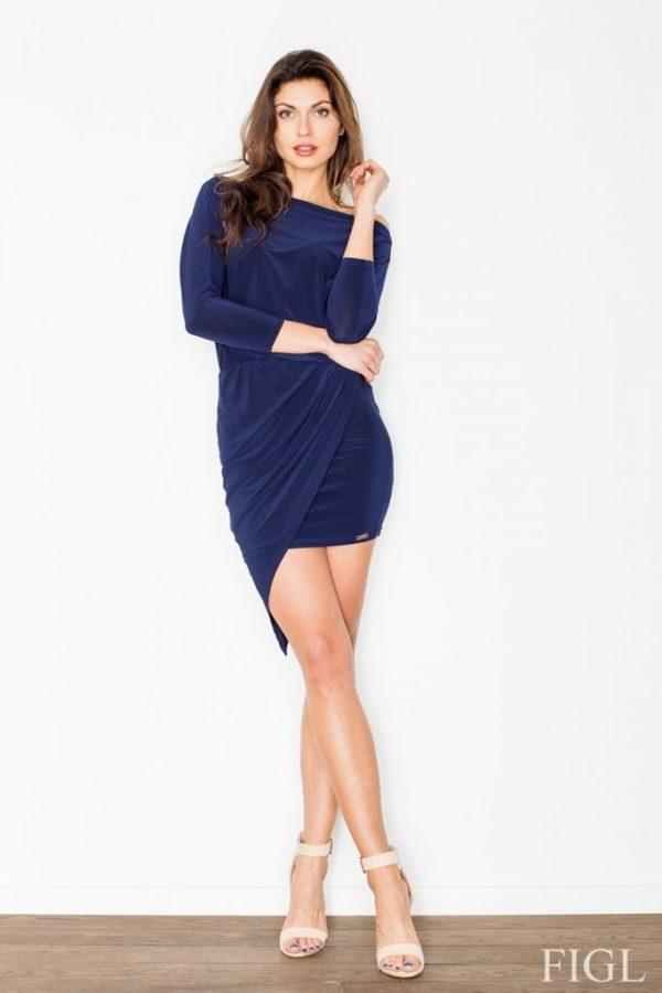 Dámské šaty FIGL M475 modré