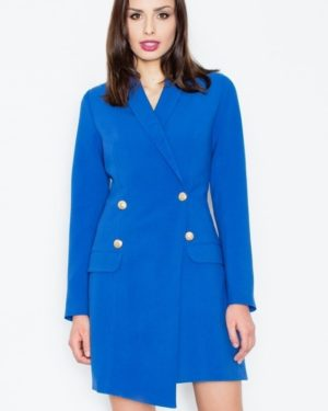 Dámský kabát FIGL M447 modrý