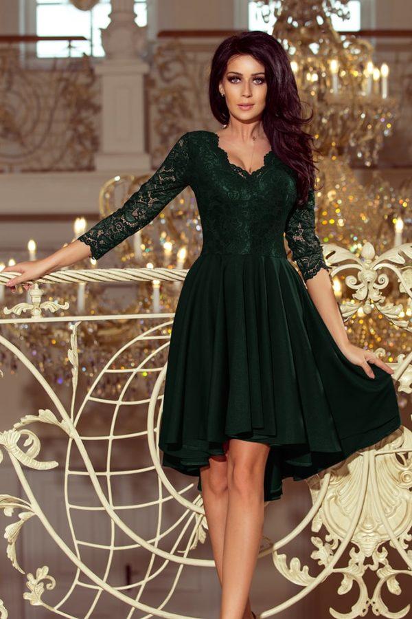 Dámské šaty 210-3 NUMOCO zelené