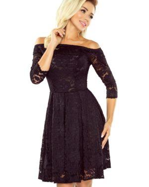 Dámské krajkové šaty NUMOCO 168-1 černé