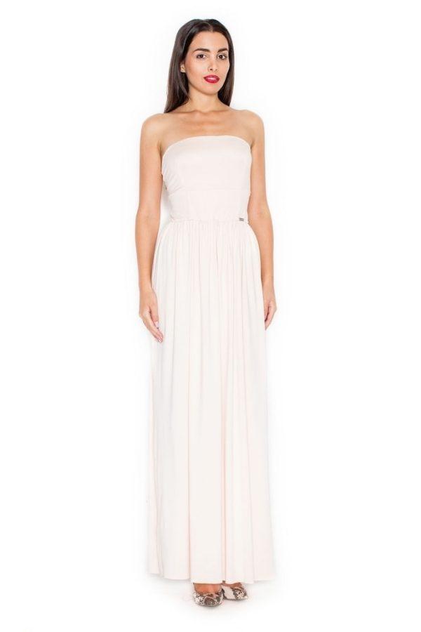 Dámské šaty KATRUS K252 světle růžové
