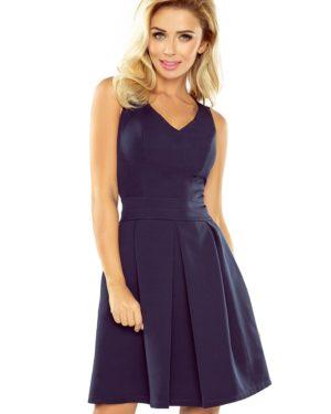 Dámské šaty 160-2 NUMOCO tmavě modré