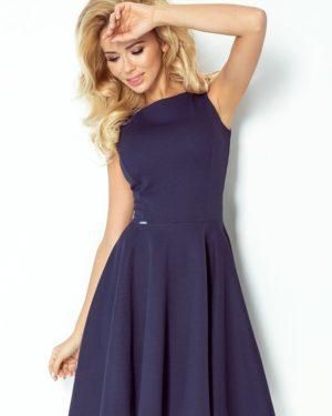 Dámské šaty 98-1 NUMOCO tmavě modré