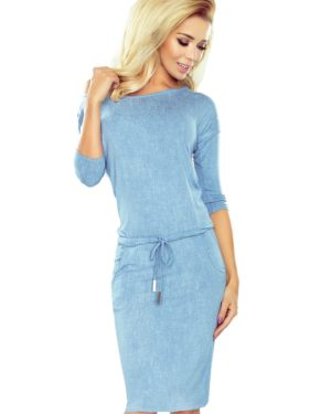 Dámské šaty 13-80 NUMOCO modré