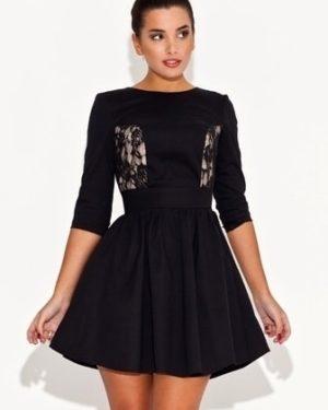 Dámské šaty KATRUS K068 černé