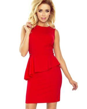 Dámské šaty NUMOCO 178-1 červené
