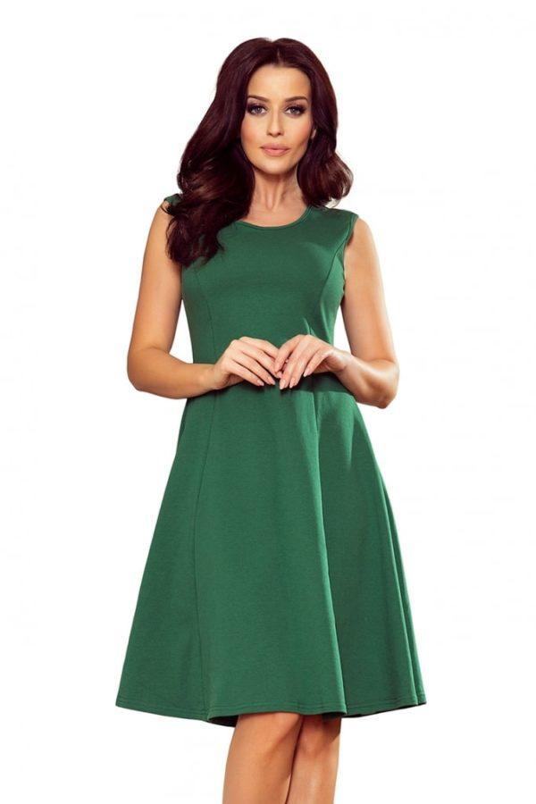 Dámské šaty 239-1 NUMOCO zelené
