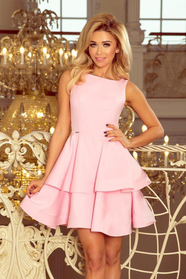 Dámské šaty 169-5 NUMOCO růžové