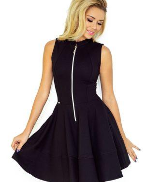 Dámské šaty 123-10 NUMOCO černé