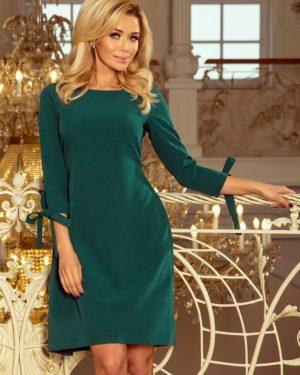 Dámské šaty 195-1 NUMOCO zelené