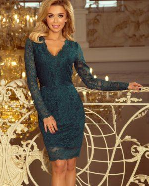 Dámské šaty 170-3 NUMOCO zelené
