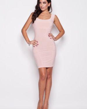 Dámské šaty K081 KATRUS růžové