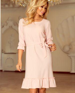 Dámské šaty 193-2 NUMOCO růžové
