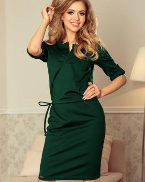 Dámské šaty 161-12 NUMOCO zelené