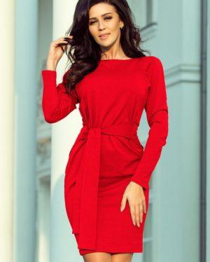 Dámské šaty 209-6 NUMOCO červené
