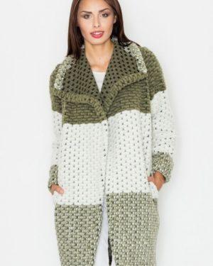 Dámský kabát FIGL M507 olive