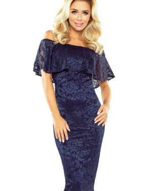 Dámské krajkové šaty MORIMIA 013-4